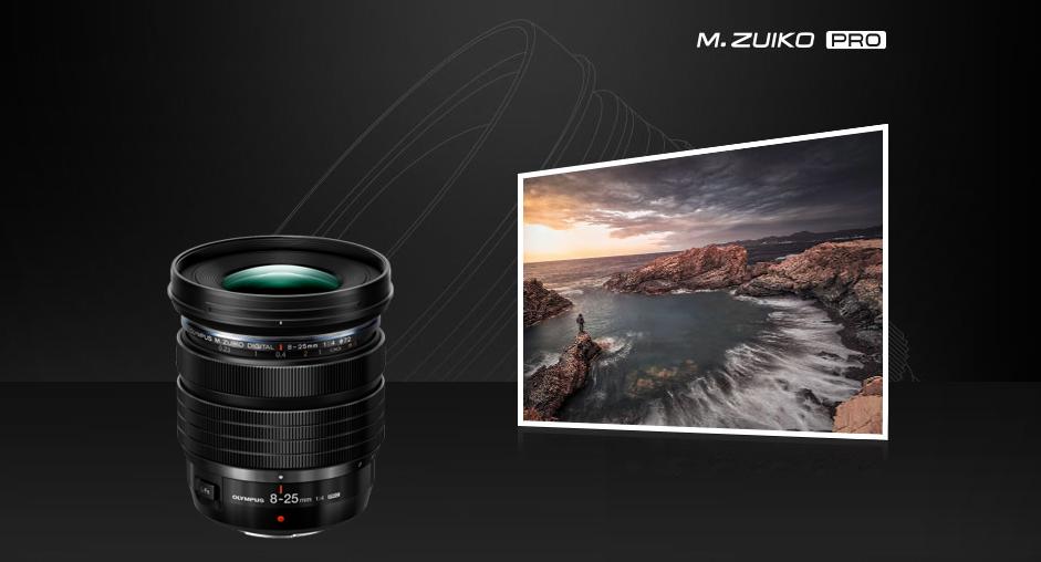 M.Zuiko Digital ED 8-25mm F4.0 PRO