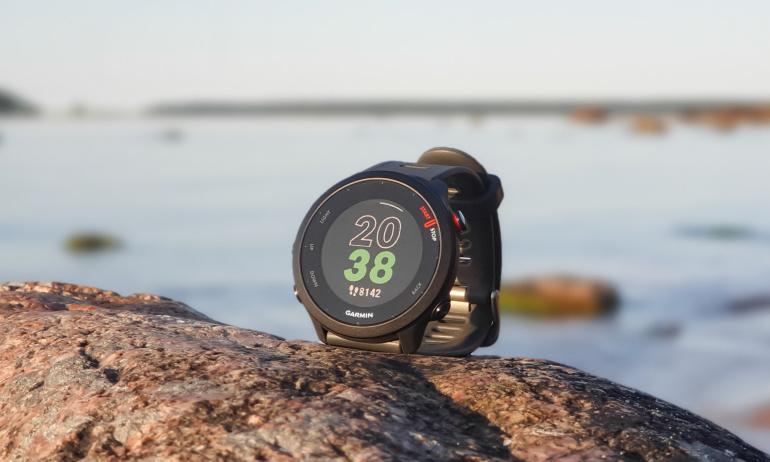 Digitest.ee: Garmin Forerunner 55 spordikell – ideaalne jooksmisega alustamiseks