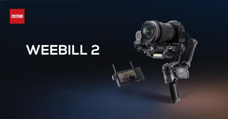 Zhiyun Weebill 2 - pööratava puutetundliku ekraaniga videostabilisaator