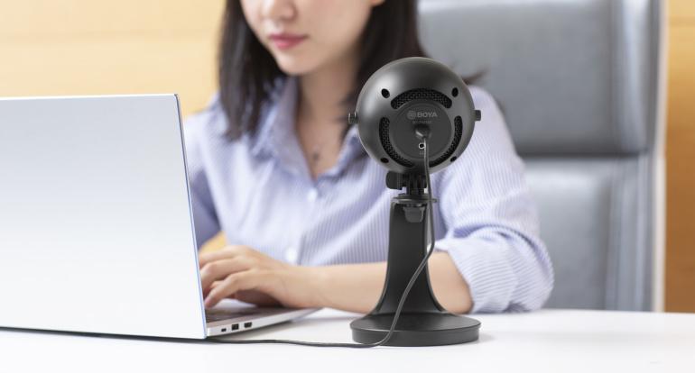 Boya BY-PM300 on ideaalne USB mikrofon koduseks kasutamiseks