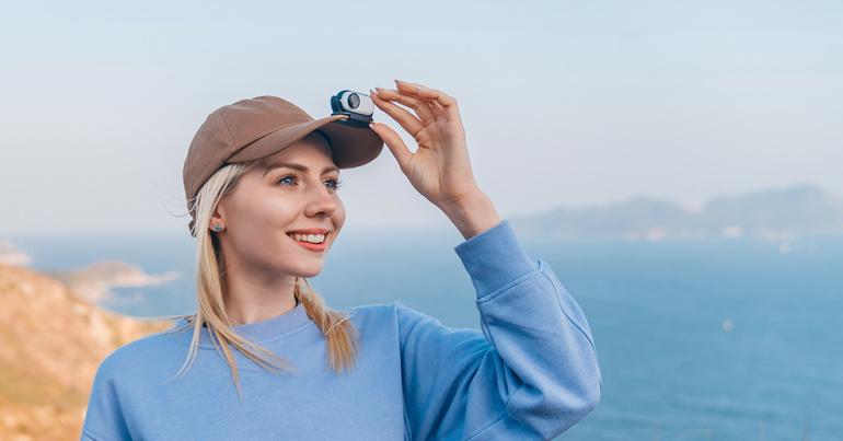 Maailma kõige kompaktsem seikluskaamera Insta360 GO 2
