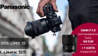 MEGADIIL: Panasonic Lumix S5 ostul 1-aasta lisagarantiid + tasuta lisaaku + objektiiv -369€