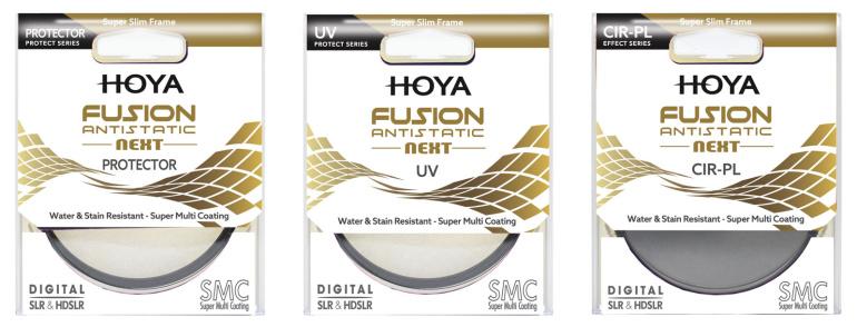 Tippkvaliteediga Hoya Fusion Antistatic Next filtritel on antistaatiline vääristus