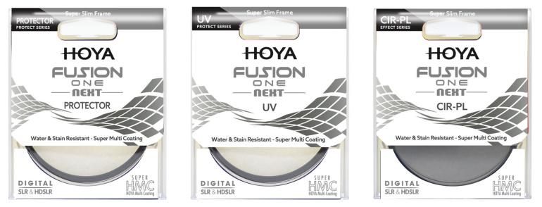 Hoya Fusion One Next seeria fotofiltrid pakuvad objektiivile kvaliteetset kaitset