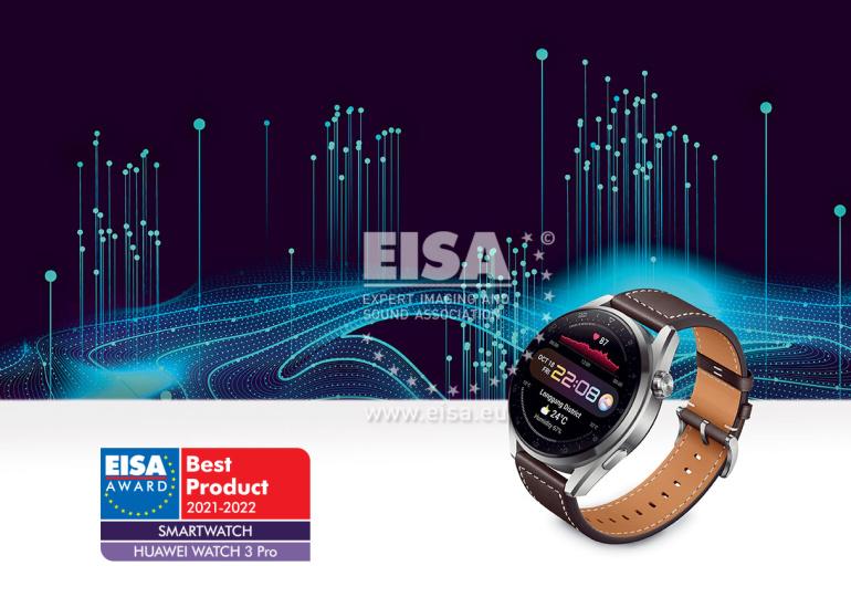 Huawei Watch 3 Pro valiti EISA poolt 2021. aasta parimaks nutikellaks