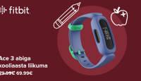 Soodushinnaga Fitbit Ace 3 on lastele loodud aktiivsusmonitor