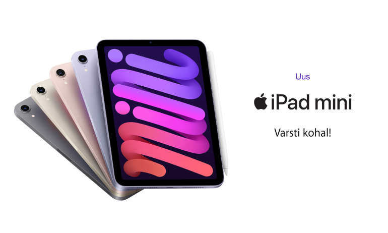 Uus Apple iPad mini (2021) tegi suure arenguhüppe