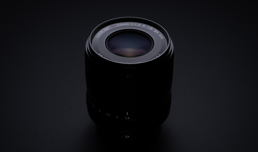 Fujifilm XF 33mm f/1.4 R LM WR
