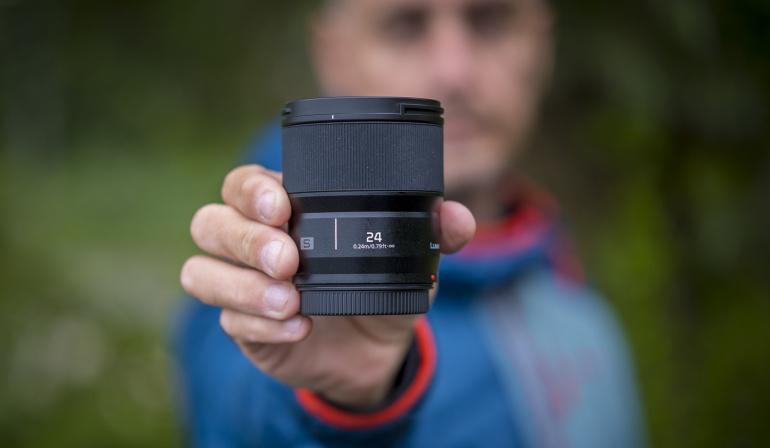 Peagi on saabumas uus Panasonic Lumix S 24mm f/1.8 fiksobjektiiv