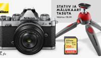 Retrodisainiga Nikon Z fc hübriidkaamera ostul saad kaasa kingitused