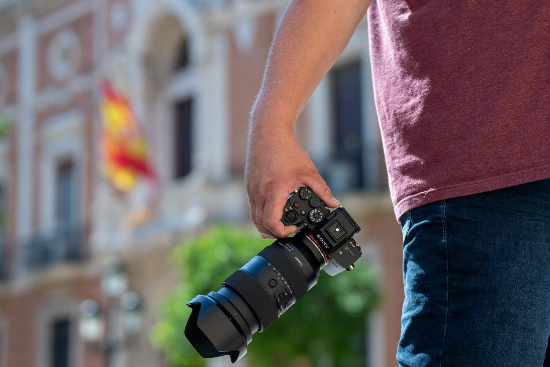 Tamron 35-150mm f/2-2.8 Di III VXD objektiiv Sonyle