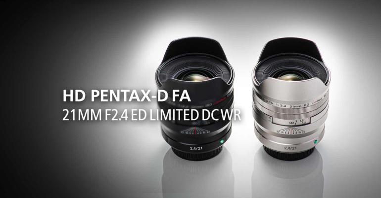 Ricoh toob turule kvaliteetse HD Pentax D-FA 21mm f/2.4 ED Limited lainurkobjektiiv